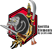 Gorilla-Elements by p-jef.com